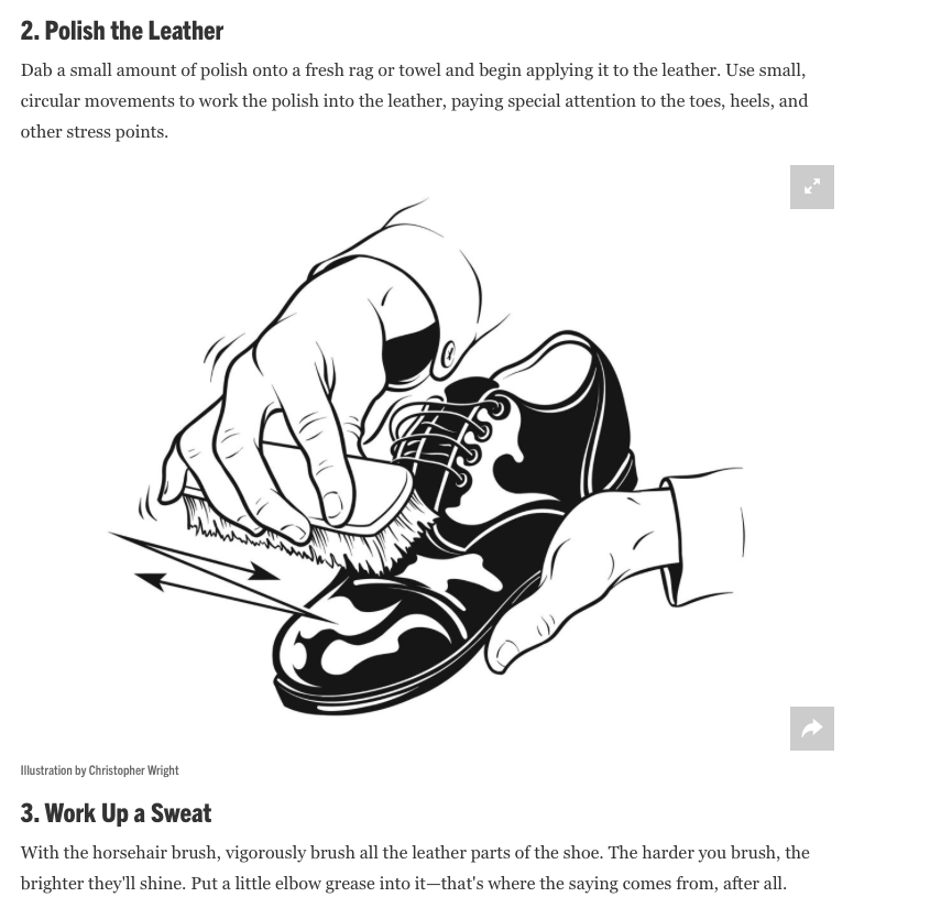 Esquire magazine step by step how to pt. 3